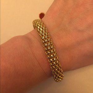 Gold toned bracelet by premier designs
